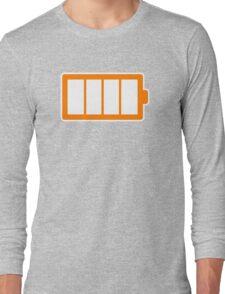 Battery Level | Simple Long Sleeve T-Shirt
