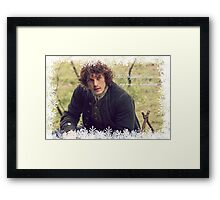 Outlander - My brown haired lass Framed Print