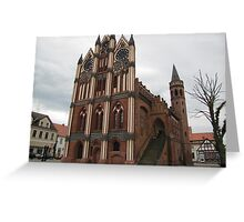 Historical Town Hall Greeting Card