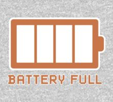 Battery Level | Battery Full by BludMuffin