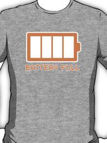 Battery Level | Battery Full T-Shirt