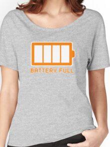 Battery Level | Battery Full Women's Relaxed Fit T-Shirt