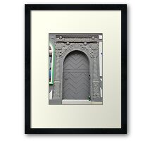 Historical Door I Framed Print