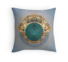 The Little Planet of St. Ives Throw Pillow
