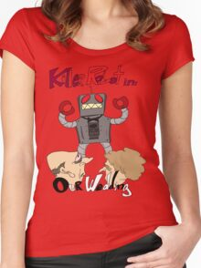 Killer Robot Goes to a Wedding Women's Fitted Scoop T-Shirt