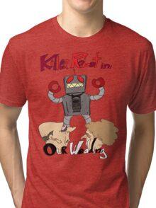 Killer Robot Goes to a Wedding Tri-blend T-Shirt