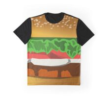 Extreme Burger Graphic T-Shirt