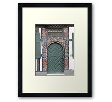 Historical Door III Framed Print