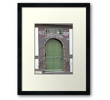 Historical Door V Framed Print