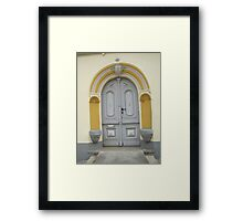 Historical Door VI Framed Print