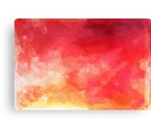 Abstract Watercolor Gradient Canvas Print