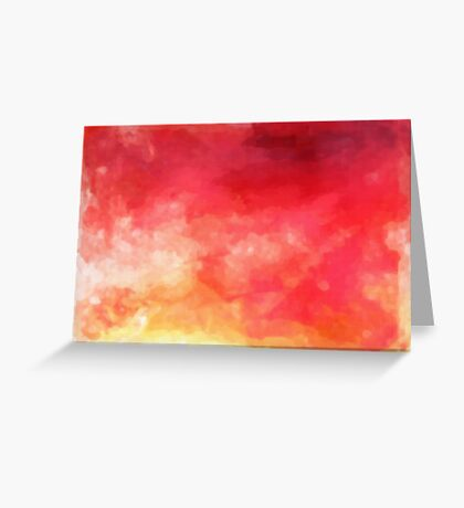 Abstract Watercolor Gradient Greeting Card
