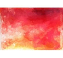 Abstract Watercolor Gradient Photographic Print