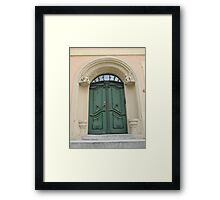Historical Door VII Framed Print