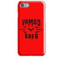 "Rafael Nadal ""Pasion&Respeto"" iPhone Case/Skin"