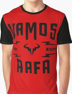 "Rafael Nadal ""Pasion&Respeto"" Graphic T-Shirt"