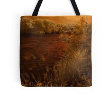 Infra Red gale- Tree and water motion Tote Bag