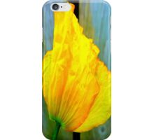 Yellow Poppy iPhone Case iPhone Case/Skin