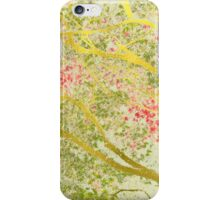 golden maple trees iPhone Case/Skin