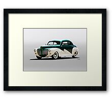 1941 Mercury 'Kustom' Coupe Framed Print