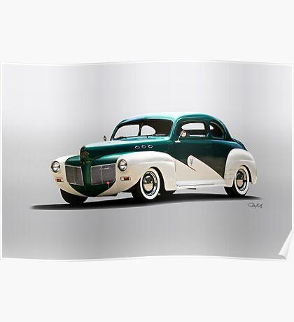 1941 Mercury 'Kustom' Coupe Poster