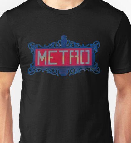 Parisian metropolitain Unisex T-Shirt