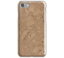 Cork flooring iPhone Case/Skin