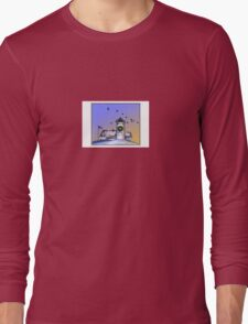 Nobska Lighthouse Wreath Long Sleeve T-Shirt