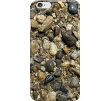 Wet river rock iPhone Case/Skin