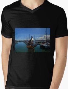 Fish out of water.....Fuerteventura Mens V-Neck T-Shirt
