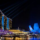 The  Light Show.    Singapore by DIZZYHEIGHTS