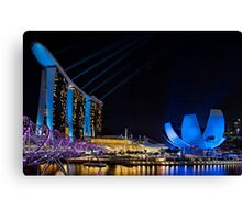 The  Light Show.    Singapore Canvas Print