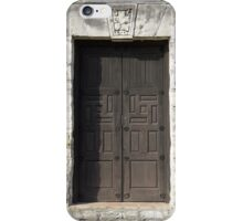 Medieval French Door iPhone Case/Skin