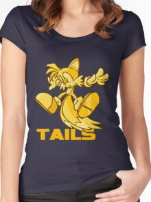 Tails isnt that bad :) Women's Fitted Scoop T-Shirt