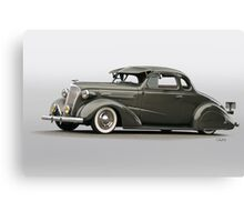 1937 Chevrolet 'Low Rider' Custom Coupe Canvas Print