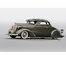 1937 Chevrolet 'Low Rider' Custom Coupe Photographic Print