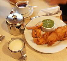 Fish and chips by Carol Dumousseau