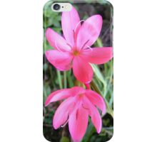 little pink flowers iPhone Case/Skin