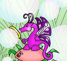 Bubble Dragon by Philip Bedard