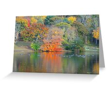 NATURE ALWAYS WEARS THE COLOR OF THE SPIRIT. Greeting Card