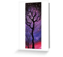 Tree and Stars  Greeting Card
