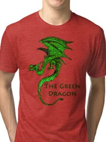 The Green Dragon Tri-blend T-Shirt