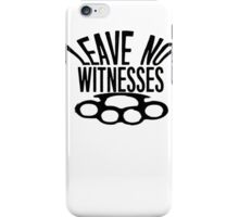 Coffin Squad Witnesses iPhone Case/Skin