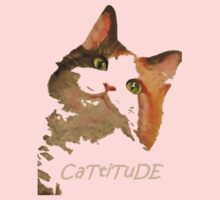 Cattitude - A Cat With Attitude Baby Tee