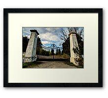 The Gates of Aldarra Framed Print