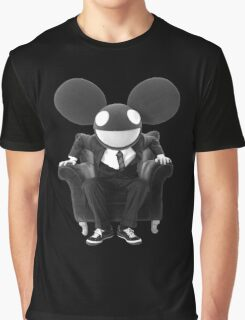 dedmau5 b&w Graphic T-Shirt
