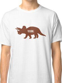 Triceratops Love Veggies Classic T-Shirt