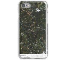 USGS Topo Map Washington State WA Aladdin Mountain 20110428 TM iPhone Case/Skin