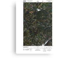 USGS Topo Map Washington State WA Aladdin Mountain 20110428 TM Canvas Print