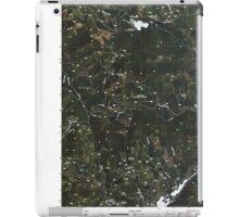 USGS Topo Map Washington State WA Aladdin Mountain 20110428 TM iPad Case/Skin